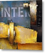 15.020 - Urban Intersection Metal Print