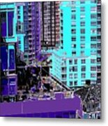 Urban Jungle Metal Print