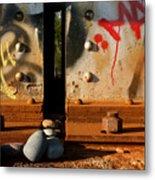 Urban Landscape Metal Print