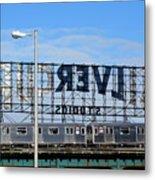 Urban Landscape Long Island City Metal Print