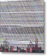 Urban Moon Metal Print