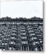 Urban Mountain Metal Print