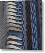 Urban Patters Metal Print