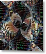 Urban Twist And Tango Metal Print