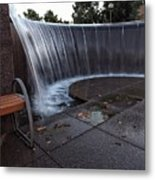 Urban Waterfall  Metal Print