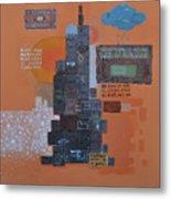 Urbanization Xiv Metal Print