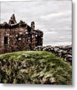 Urquhart Ruins IIi Metal Print