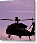 Us Army Blackhawk Metal Print