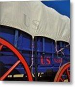 U S Army Supply Wagon Metal Print
