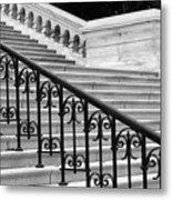 United States Capital Steps Metal Print