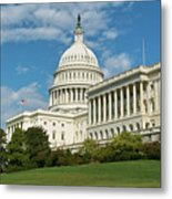 Us Capitol Washington Dc Metal Print