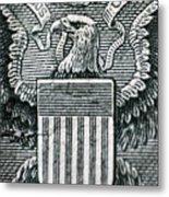 Us Dollar Eagle Metal Print