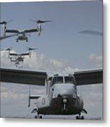 U.s. Marine Corps Mv-22 Osprey Metal Print
