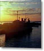 Us Naval Station Mayport Metal Print