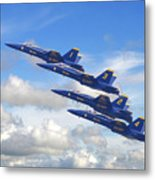Us Navy - Blue Angels Metal Print