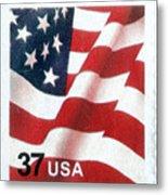 U.s. Postage Stamp, 2003 Metal Print