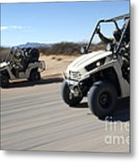 U.s. Soldiers Drive Multiple Ltatvs Metal Print