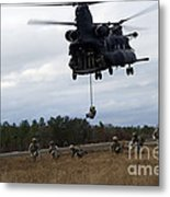 U.s. Soldiers With The 7th Special Metal Print