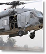 U.s. Special Forces Conduct Assault Metal Print