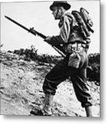 U.s World War II Infantry, 1942 Metal Print