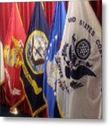 Usa Armed Forces Swearing In Metal Print