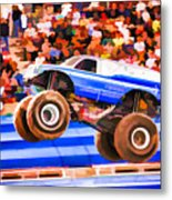 Usaf Afterburner Monster Jam Metal Print