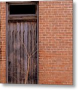Use Side Entrance Metal Print