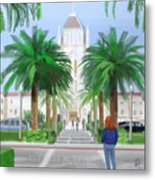Usf Lone Mountain San Francisco Ca Metal Print