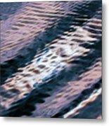 Ushuaia Ar - Ocean Ripples 1 Metal Print