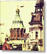 Uspenski Cathedral Metal Print