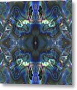 Uss Arizona Sailor Tears Kaleidocope Metal Print