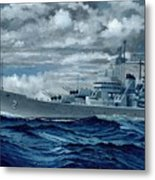 Uss Canberra Cag-2  Metal Print