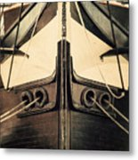 Uss Constellation Metal Print by Lisa Russo