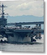Uss George Washington Metal Print