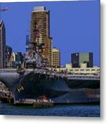 Uss Midway San Diego Ca Metal Print