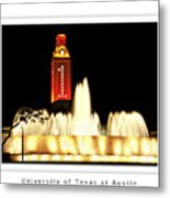 Ut Tower Poster Metal Print