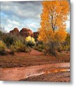 Utah Autumn Metal Print