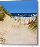 Utah Beach Normandy France Metal Print