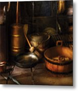 Utensils - Colonial Utensils Metal Print