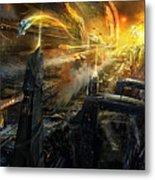 Utherworlds Battlestar Metal Print