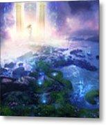 Utherworlds Passage To Hope Metal Print by Philip Straub