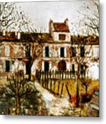 Utrillo: Montmagny, 1908-9 Metal Print