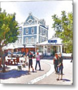 V And A Waterfront Cape Town Metal Print by Jan Hattingh