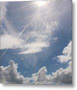 V Cloud Under The Sun  Metal Print