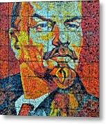 V. I. Ulyanov. Mosaic. Sochi Park. Metal Print
