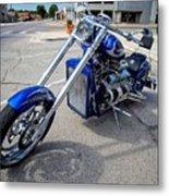 V8 Chopper Metal Print