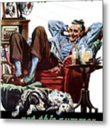 Vacation At Home -- Ww2 Poster Metal Print