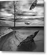 Vacationers Metal Print