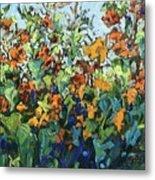 Vadasz Sunflowers Metal Print