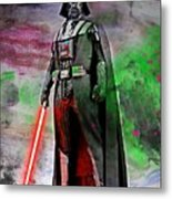 Vader Abstract Metal Print